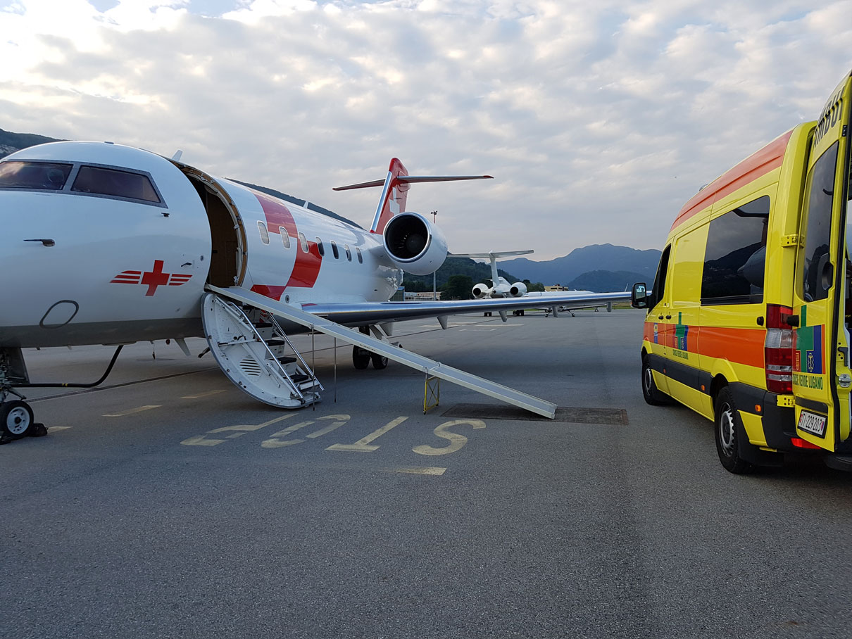 Ambulance Ground Handling